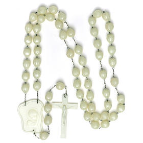 Luminous large rosary 25mm beads s4