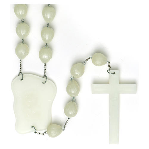 Luminous large rosary 25mm beads 2