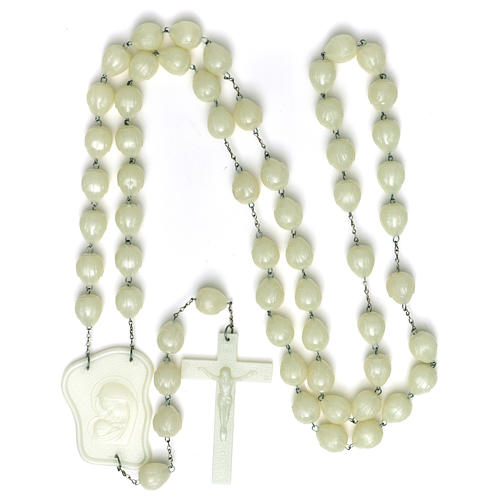 Luminous large rosary 25mm beads 4