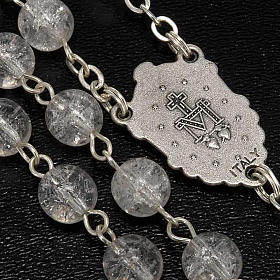 Cracked crystal rosary s4
