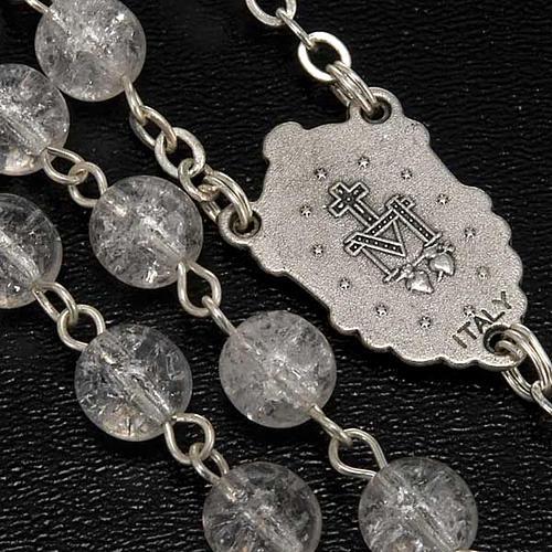 Rosario cristallo crepato tondo 7 mm 4