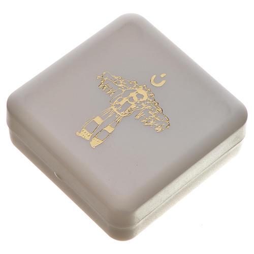 Chapelet parfumé au jasmin blanc Pape François 8