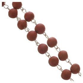 Jasmine perfumed rosary beads, red, Pope Francis s3