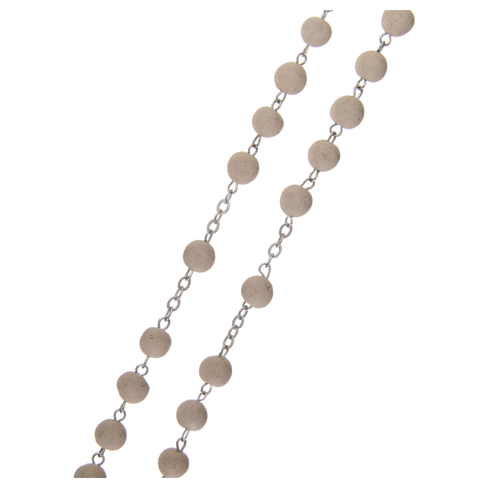 Sented rosary real jasmine beads 5 mm Saint Teresa 4