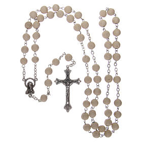 Sented rosary real jasmine beads 5 mm Saint Teresa s4