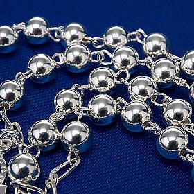 Rosario argento 925 grano 6 e 3 mm s6