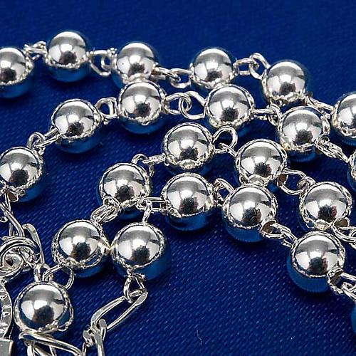 Rosario argento 925 grano 6 e 3 mm 6