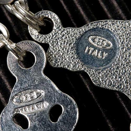 Rosario argento 925 grano 6 e 3 mm 8