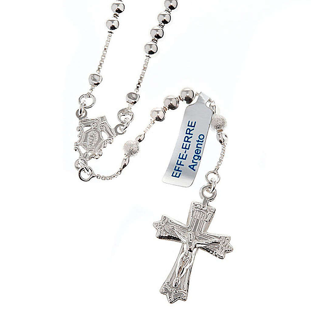 Rosary, 925 silver, sliding beads 4