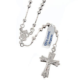 Rosary, 925 silver, sliding beads s1