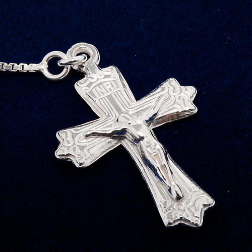Rosary, 925 silver, sliding beads 3