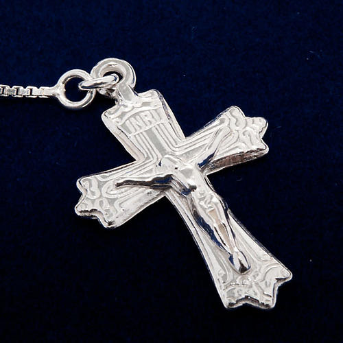 Rosary, 925 silver, sliding beads 3
