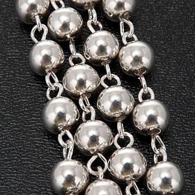Rosenkranz Silber 925 Perlen 5 Millimeter s2