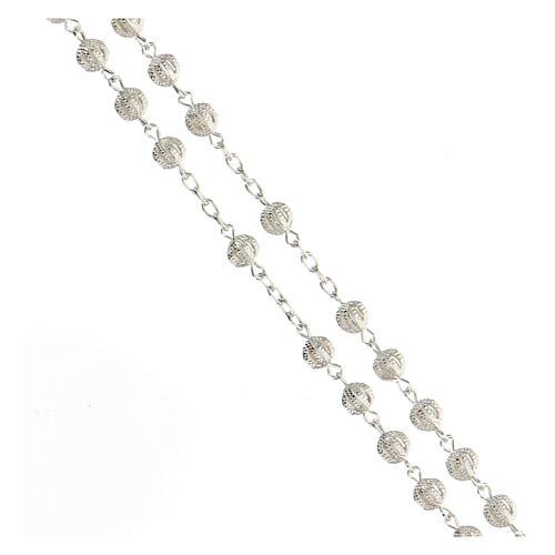 Rosenkranz Silber 800 3