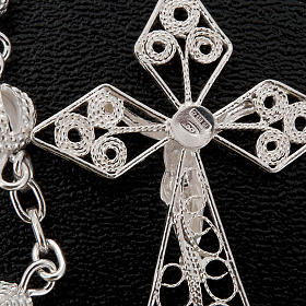 Rosary in silver 800 filigree s2