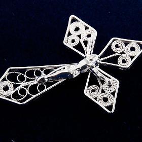 Rosary in silver 800 filigree s5