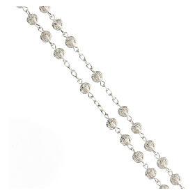 Rosary in silver 800 filigree s3