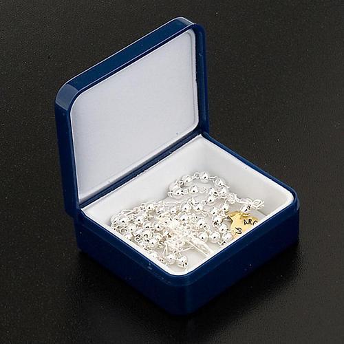 Rosario argento 925 tondo 4mm 2