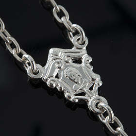 Rosario de plata 925 ónix 6mm s7
