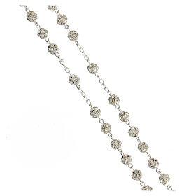Rosenkranz aus 925er Silber und Swarovski-Kristallen 6 mm s3