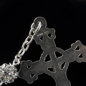 Rosary, 800 silver and swarovski, 6mm s3