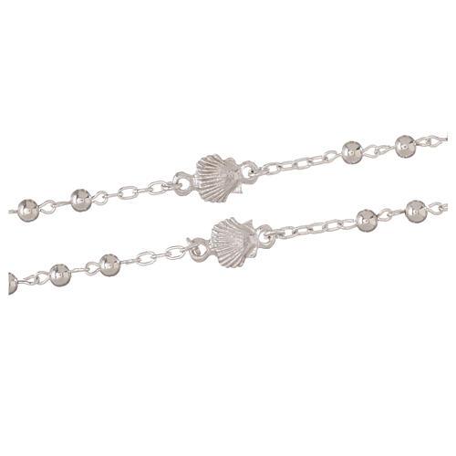 Rosary in 925 silver, Santiago de Compostela 3