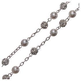 Rosario argento 800 6 mm perla s3