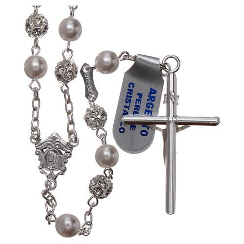 Rosario argento 800 6 mm perla 2