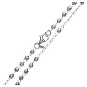 Rosario classico colore silver argento 925 s4