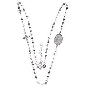 Rosario girocollo silver zirconi bianchi argento 925 s3
