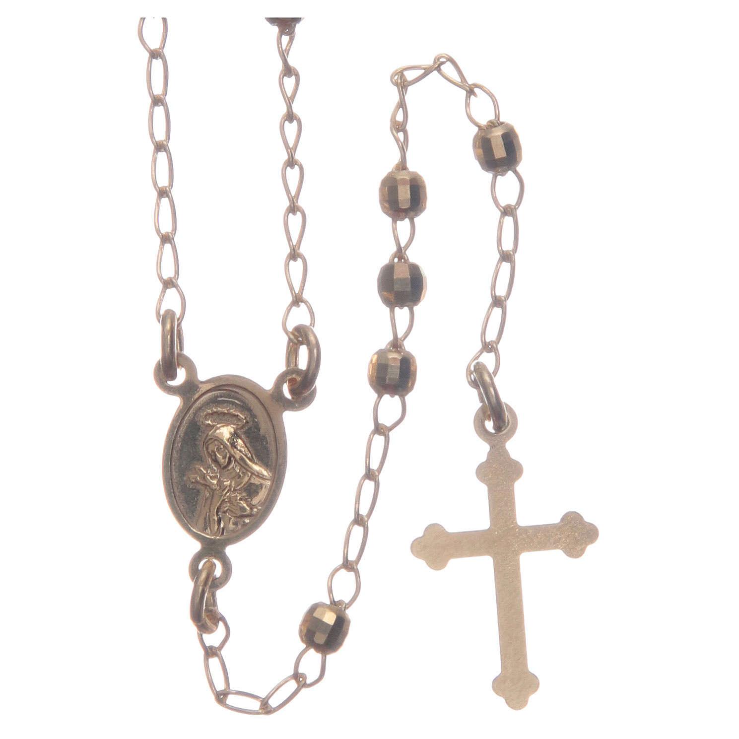 Rosario classico girocollo silver Santa Rita argento 925 4