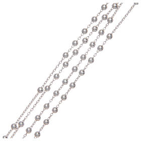Rosary with 925 sterling silver chain s3
