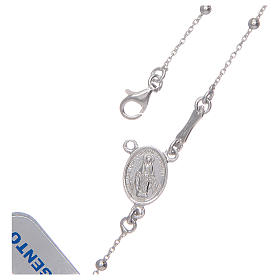 Rosary with 925 sterling silver chain s4