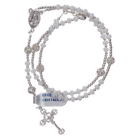 Rosary centenary Our Lady of Fatima's appearance in silver s4