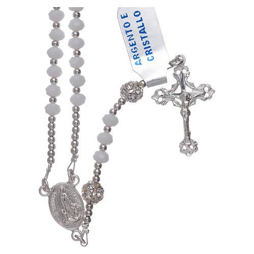 Rosario Centenario de la Aparición Virgen de Fátima plata 925 1