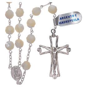 Rosario Virgen de Fátima centenario de la aparición plata<br> s1