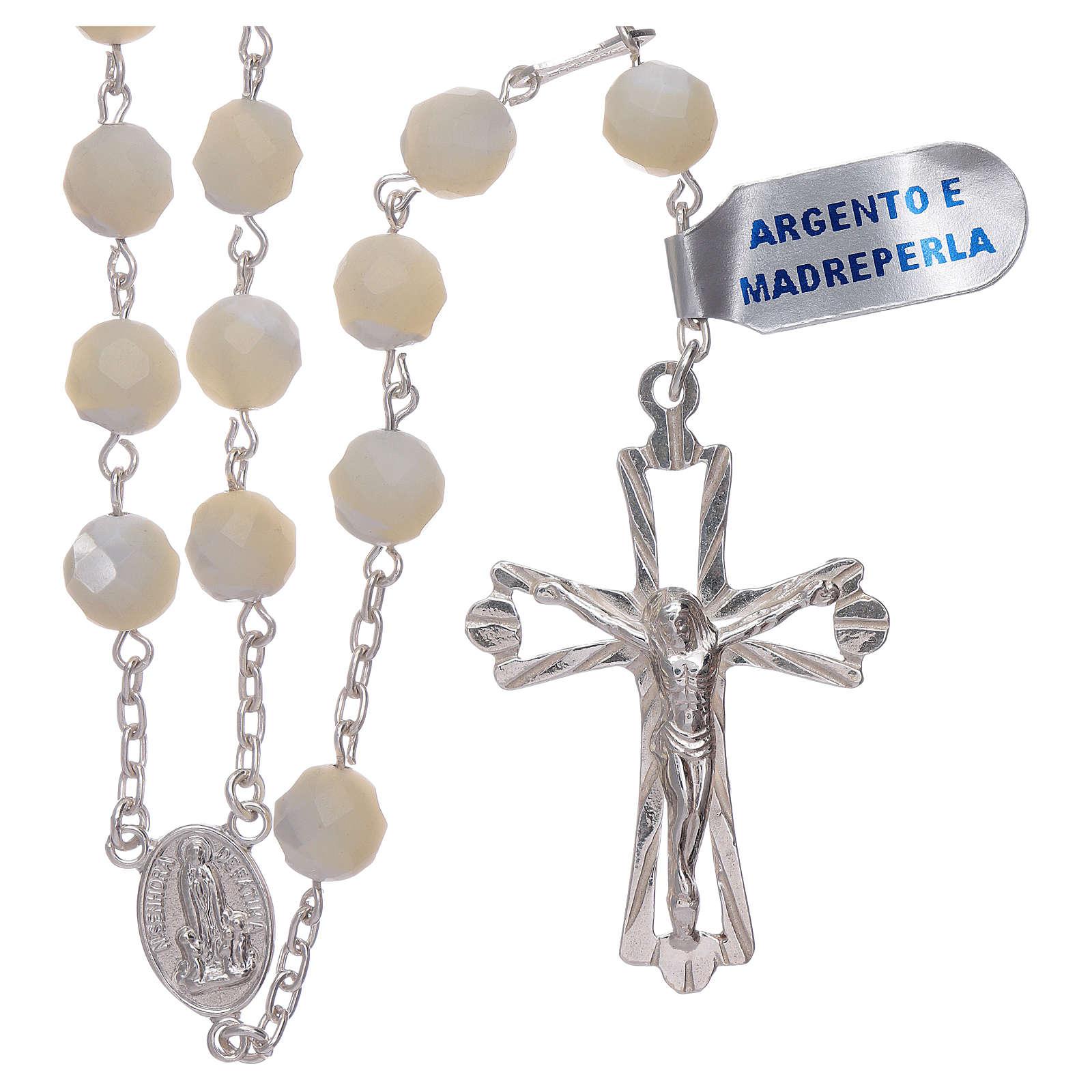 Rosario Madonna di Fatima centenario dall'apparizione argento 4