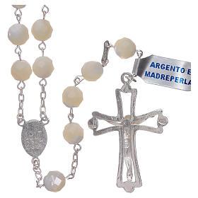 Rosario Madonna di Fatima centenario dall'apparizione argento s2