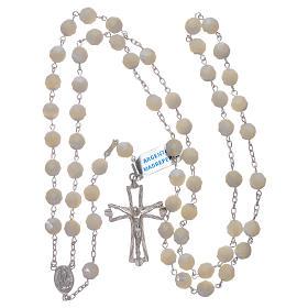 Rosario Madonna di Fatima centenario dall'apparizione argento s4
