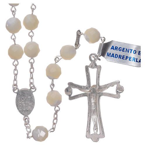 Rosario Madonna di Fatima centenario dall'apparizione argento 2