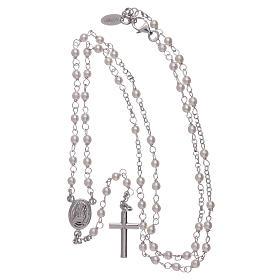 Rosario clásico AMEN Jubileo perlas Swarovski y plata 925 s4