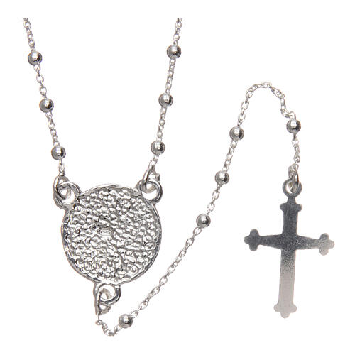 Padre Pio rosary 925 silver 1.5 mm 2