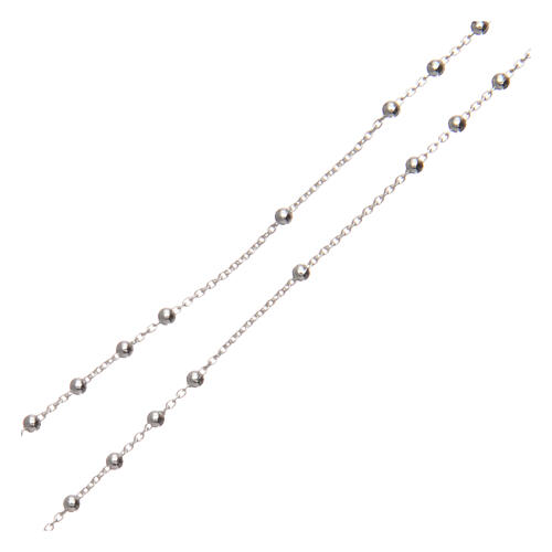 Padre Pio rosary 925 silver 1.5 mm 3