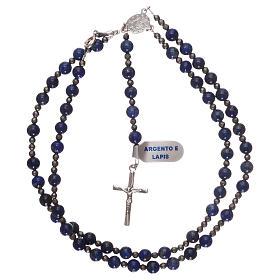 Chapelet argent 925 et lapis-lazuli s3