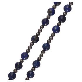 Chapelet argent 925 et lapis-lazuli s4