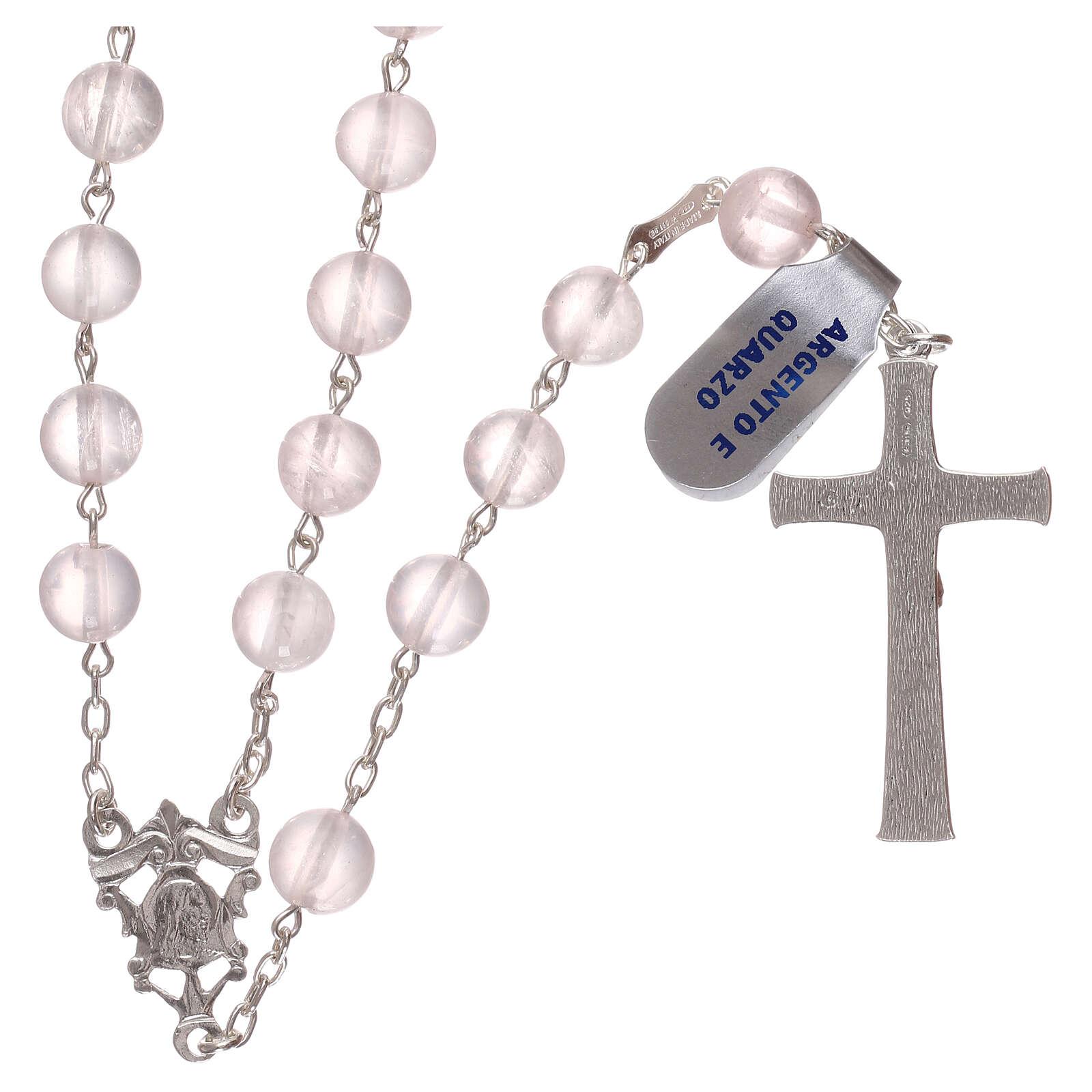 Rosary quartz and 925 silver 4