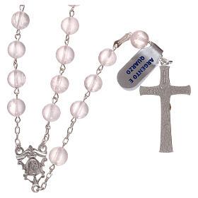 Rosary quartz and 925 silver s2