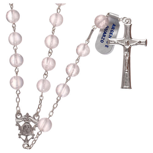 Rosary quartz and 925 silver 1