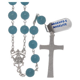 Rosario angelite e argento 925 s2