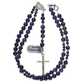 Chapelet argent 925 et grains lapis-lazuli s4